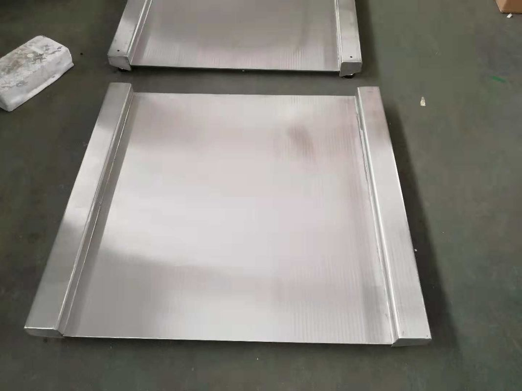 Commercial Heavy Duty Floor Scales Stainless 304 With Wire Drawing Surface