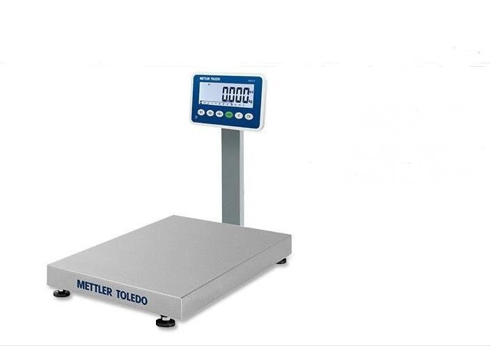 Industrial Mettler Toledo Bench Platform Scales 150Kg 7 Segment LCD With Backlit