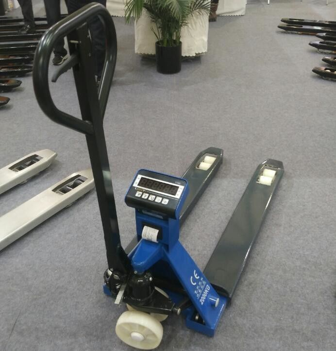 Portable Pallet Jack With Built In Scale / Pallet Jack ...